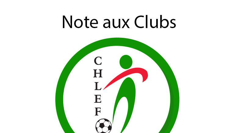 note aux clubs